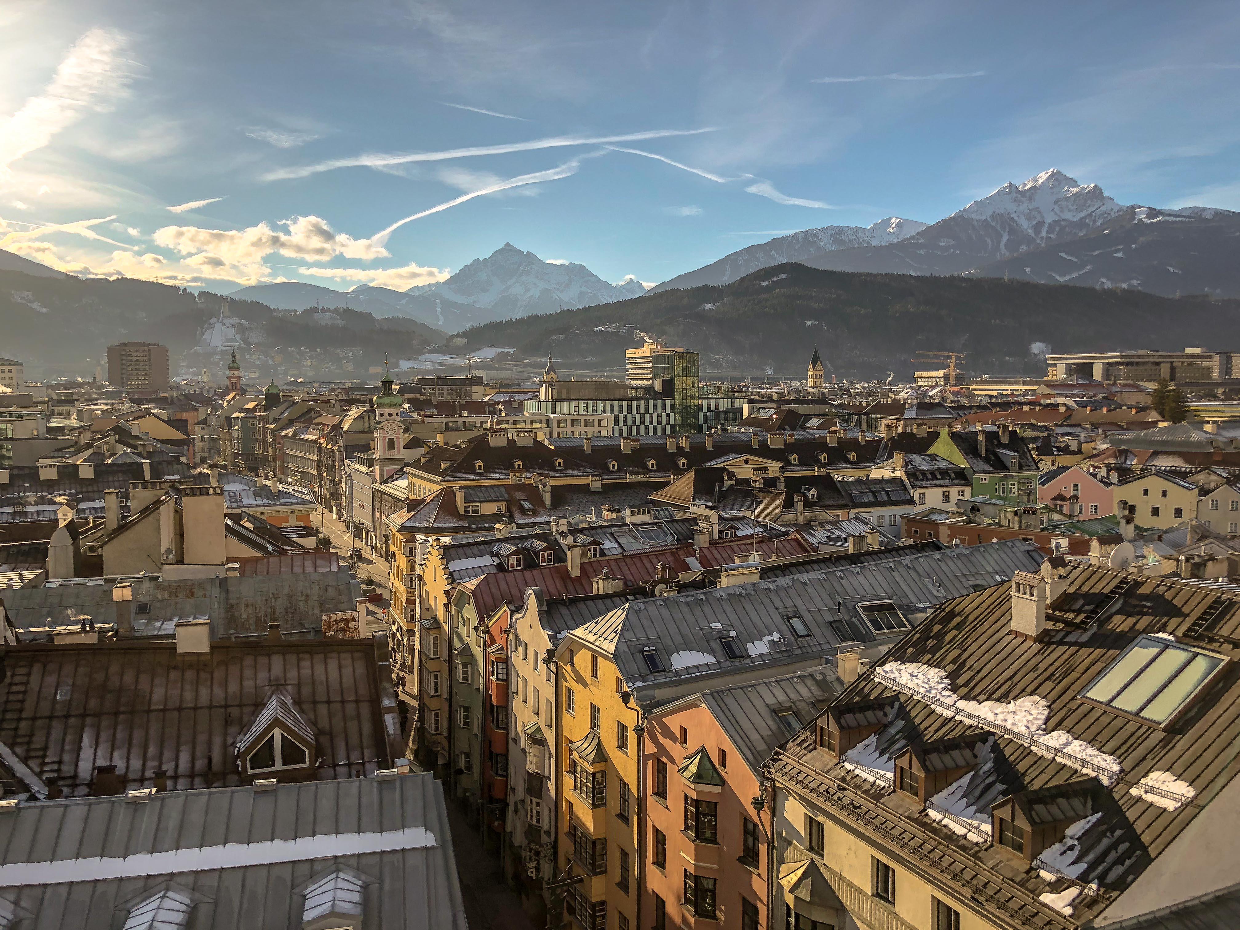 Innsbruck, Austria, Austria in winter, Europe in winter