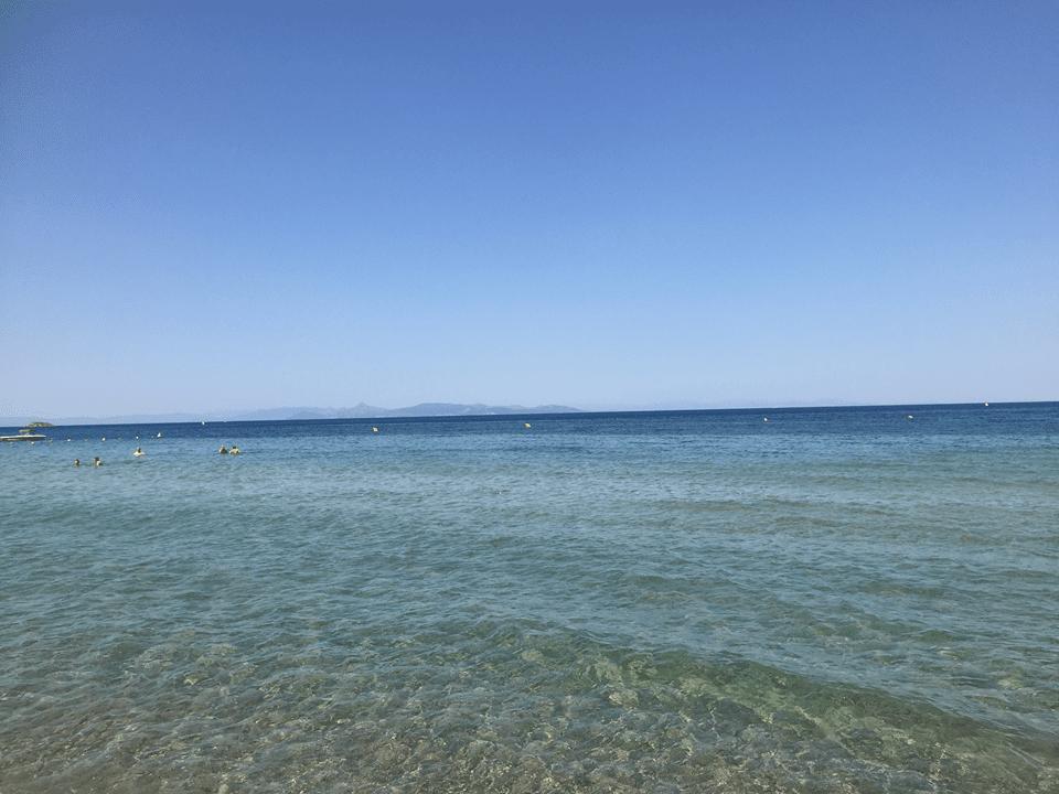 Kavouri beach, Athens with kids