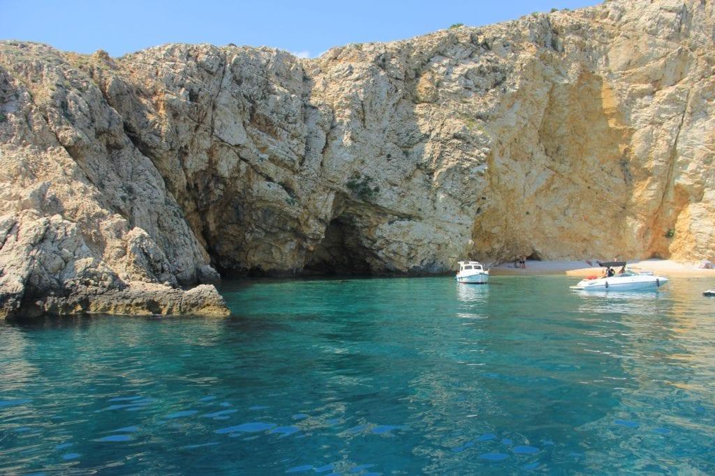 Krk, Croatia, sea and rocks, boats, best islands in croatia