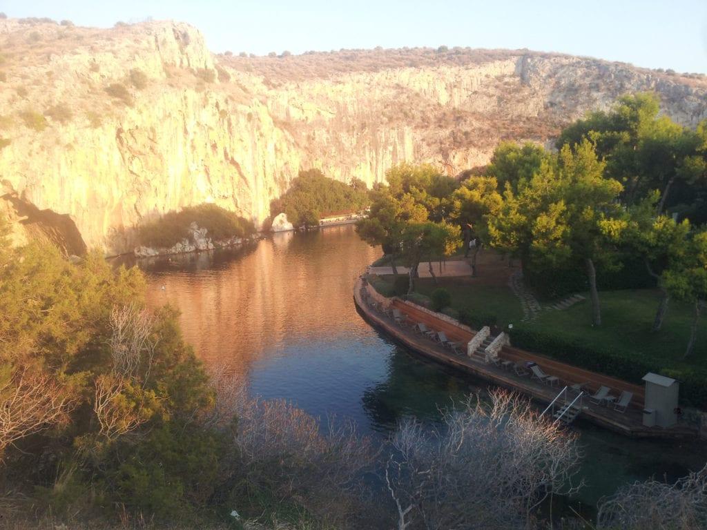 Vouliagemi lake Athens