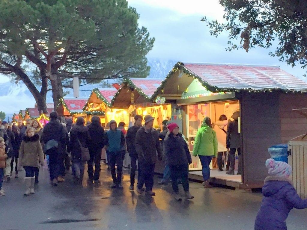 Montreux christmas market, Lake Geneva, christmas market, switzerland with kids, winter city break, February in Europe