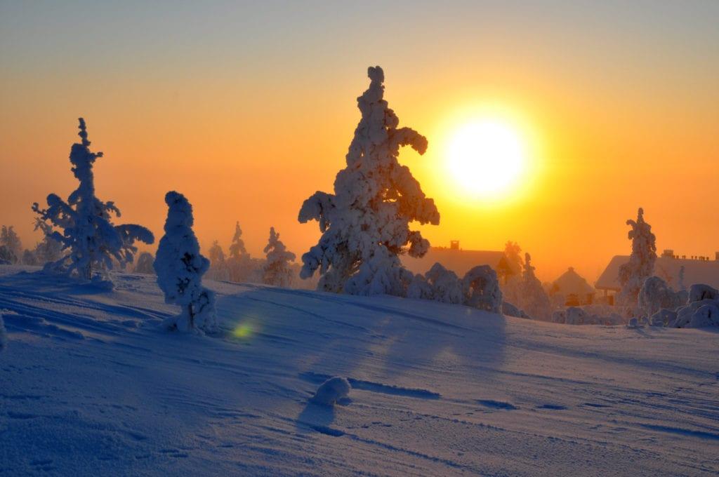 Helsinki, sunset, saarielka, best january city breaks