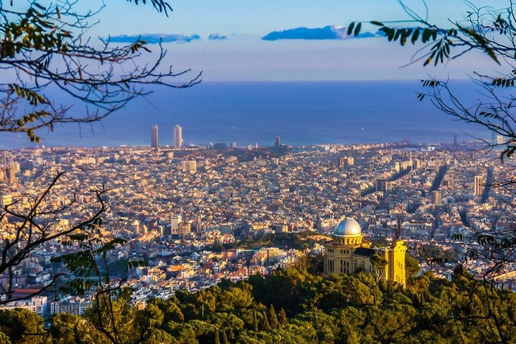 barcelona, views, catalonia