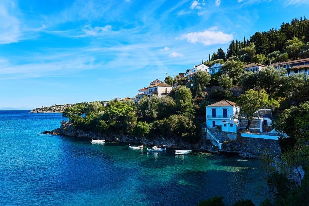 greece, ithaca, island