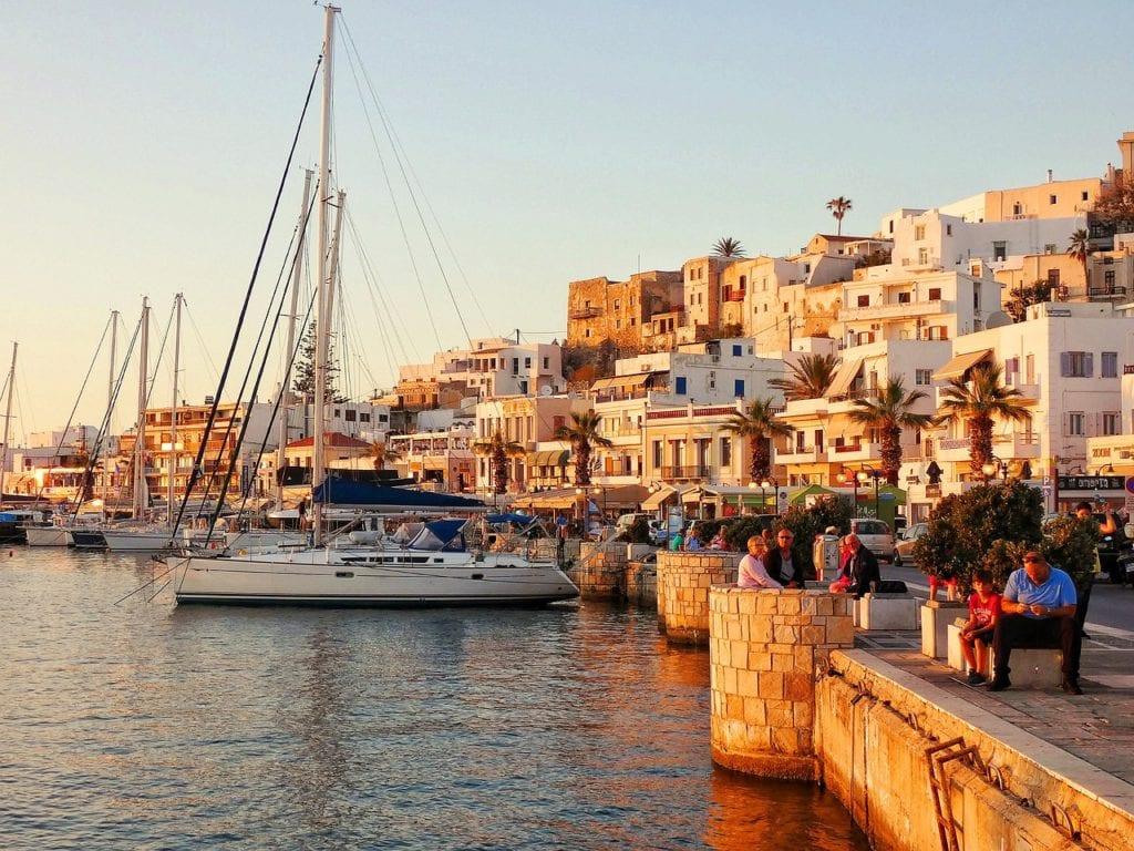 port, yachts, historic center