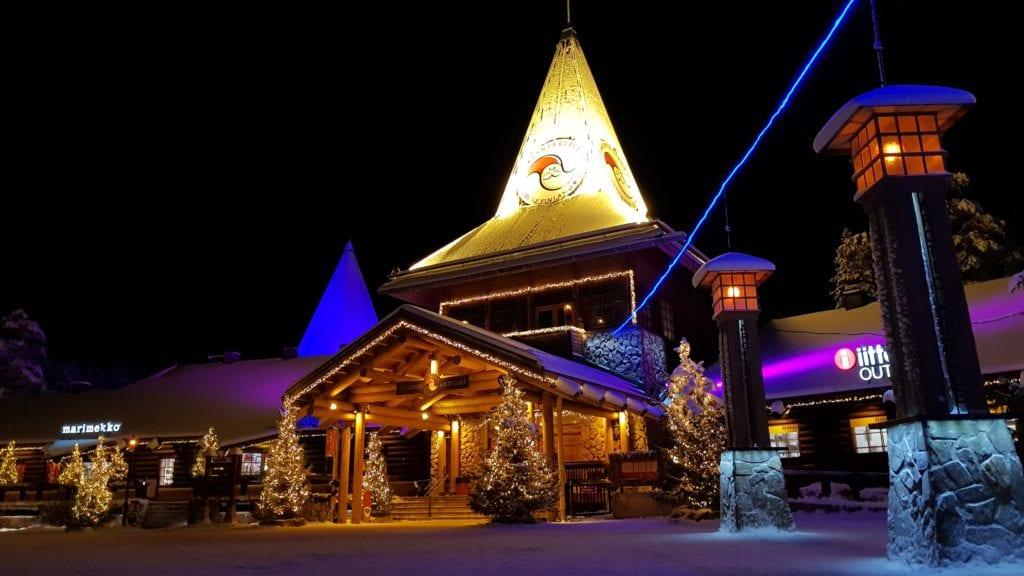 Santa Claus village, Lapland, Finland, Finland in December, Europe winter city break