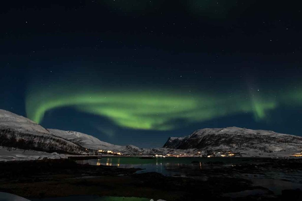 Tromso Northern Lights, Norway, winter in Europe, Europe with kids