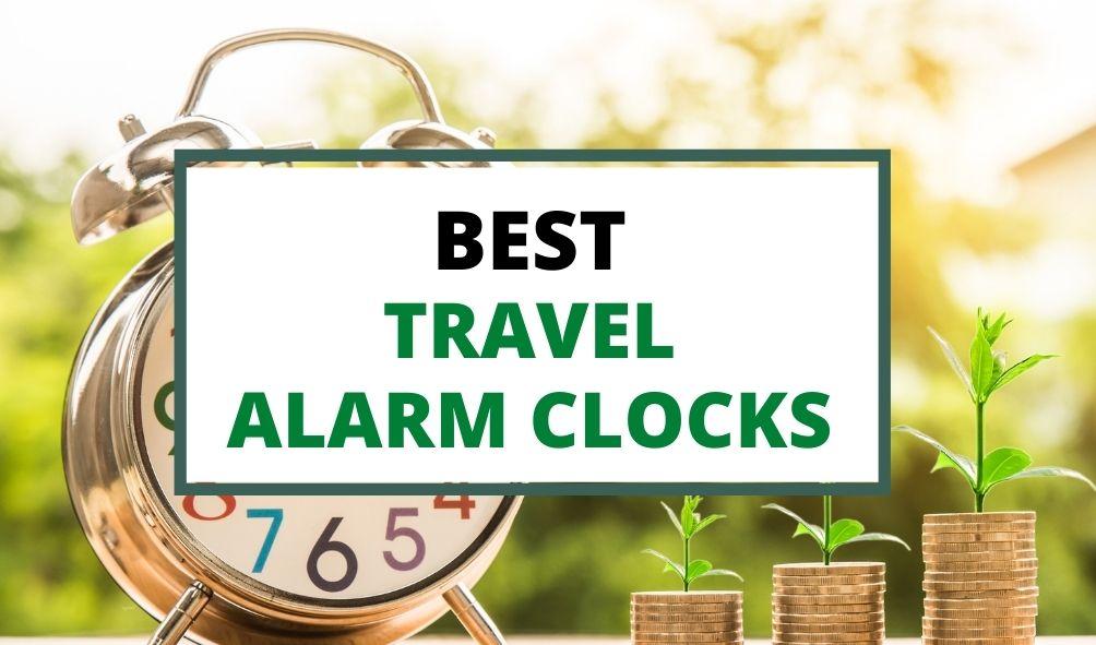 best travel alarm clocks uk