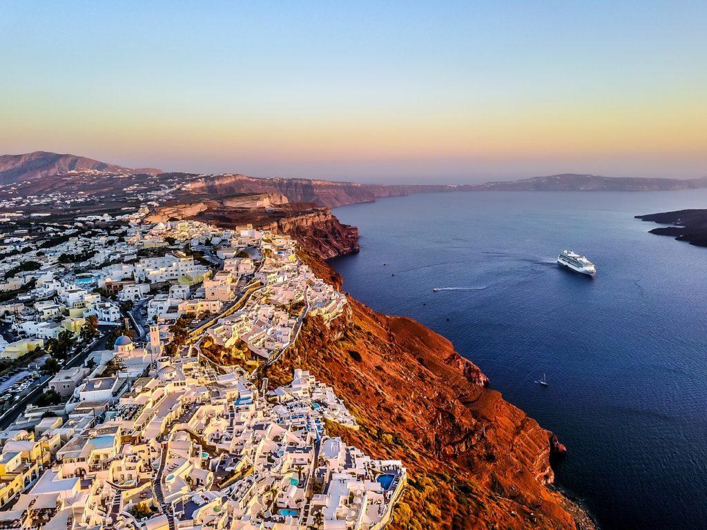 santorini, greece, island