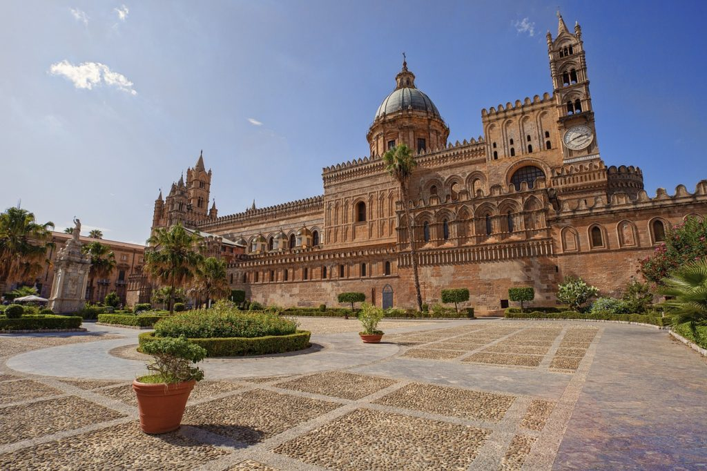 palermo, cathedral, architecture-